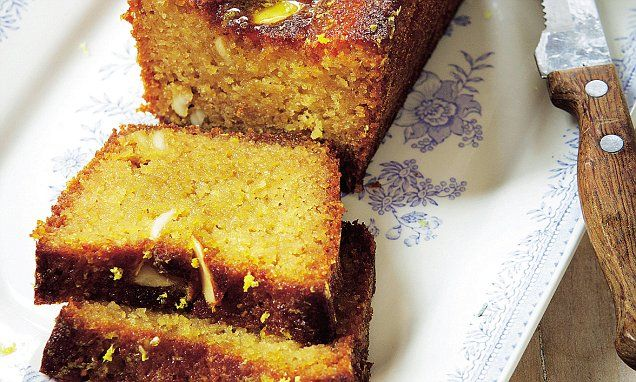 OK, this cake is a bit naughty as it contains lots of butter and honey, but there's no refined sugar or white flour in it so it's definitely not as bad as regular lemon drizzle.
