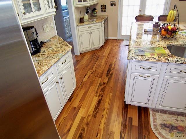 Amazing Brazilian Tigerwood Koa Hardwood Floor
