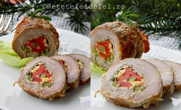 Rulada de porc ,indiferent de umplutura poate fi servita atat ca aperitiv , fel principal,alaturi de garnitura preferata dar merge foarte bine si intr-un sandwich delicios.Asadar merita s-…