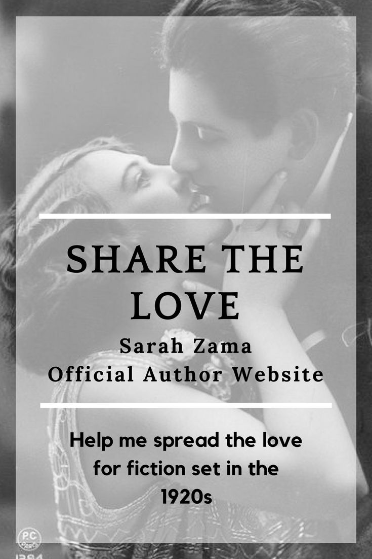I love meeting people who like me love reading stories set int he 1920s and discovering that time. Let's share what we love!