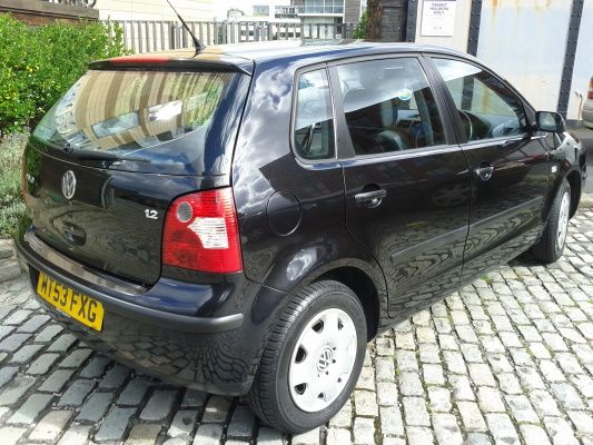 #forsale £1095 111k 2003 '53 Volkswagen VW Polo 1.2 2003 Black 1.2 5dr Hatchback Full MOT and Tax - Used Cars | MotorMouth UK