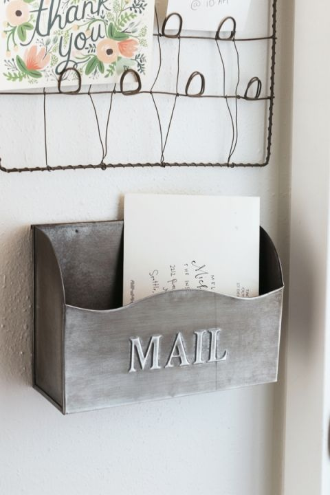 The Inspired Room - Mail Holder