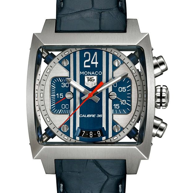 Beautiful McQueenTagheuer, Calibre 36, Steve Mcqueen, Tags Heuer Monaco, Monaco 24, Tag Heuer Monaco, Automatic Chronograph, 36 Automatic, Men Watches