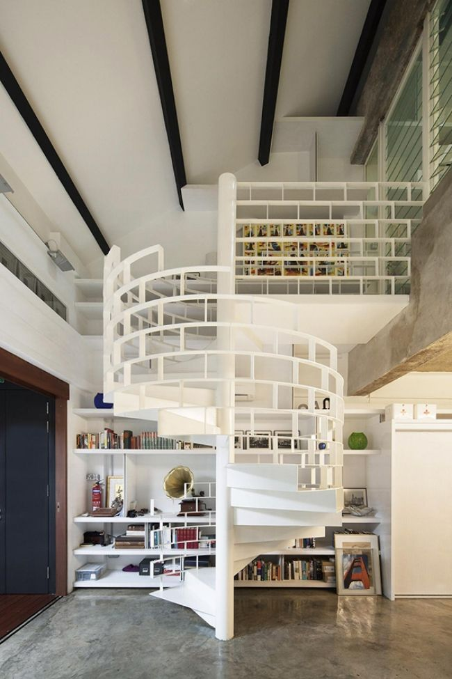 ber ideen zu loft gel nder auf pinterest loft. Black Bedroom Furniture Sets. Home Design Ideas