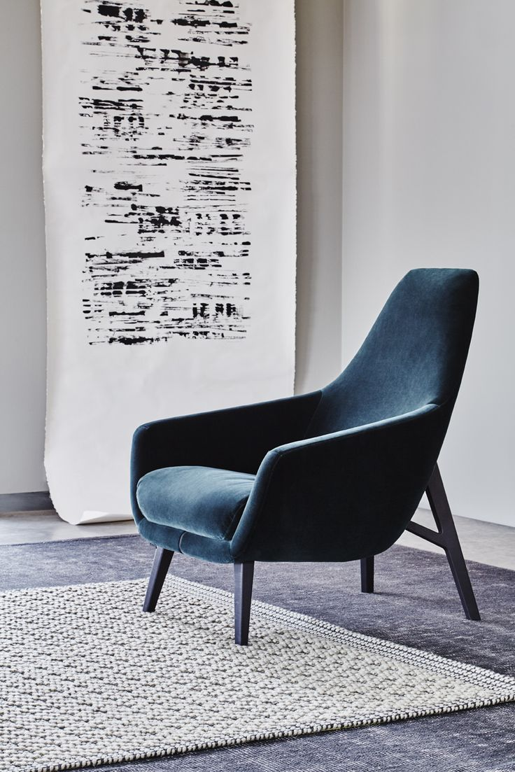 Montis   Enzo   Easy chair   Fabric Harald by Kvadrat   Design: Geert Koster