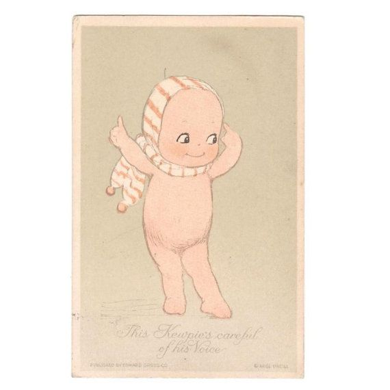 We are proud to offer to you in this listing one of two extremely rare Kewpie postcards we have found by artist and sculptor Rose ONeill. This postcard was produced in the 1910s shortly after the conception of the Kewpie design. It is one of a set of six almost impossible to come by postcards that were commissioned and manufactured after an increase in popularity of the ONeill comic strips from 1909. The earliest postal marked example I have found is 1914 suggesting a production date of…