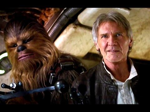 JESSIE SPENCER: Star Wars: Episode VII - The Force Awakens TRAILER #2 (2015) Harrison Ford, Mark Hamill, Andy Serkis, and Carrie Fisher Sci Fi Movie