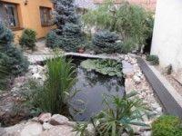 Zahradní jezírko Žebětín