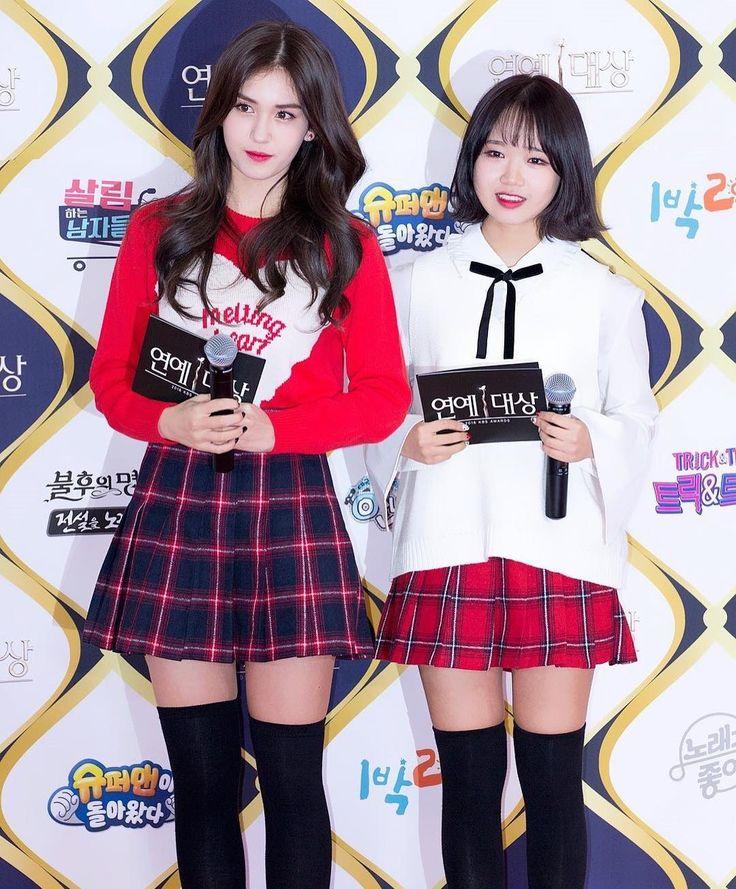 [161224] MC Somi & Yoojung as Red Carpet MCs @ 2016 KBS Entertainment Awards Red Carpet . . . . . . #IOI #너무너무너무 #아이오아이 #Somi #Sejeong #yoojung #Chungha #Sohye #Jieqiong #Chaeyeon #Doyeon #Mina #Nayoung #yeonjung #snsd #twice #gugudan #gfriend #wjsn #redvelvet #bts #b1a4 #seventeen #got7 #exo #kpoplfl #kpopfff #kpop #Girlgroub #jyp