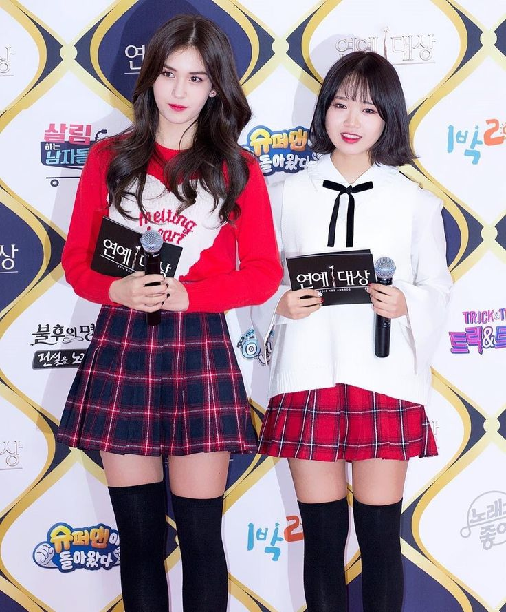161224 Mc Somi Amp Yoojung As Red Carpet Mcs 2016 Kbs