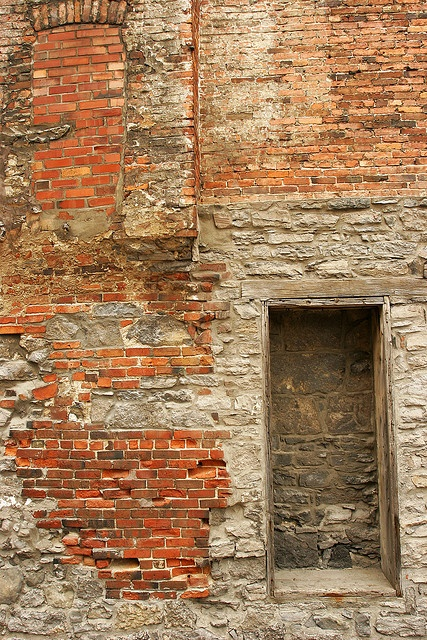 Old Montreal Brick Wall |Pinned from PinTo for iPad|