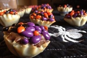 #Receta de mini tartaletas para #Halloween. #BlogdeBabyCenter. @Lacocinadevero