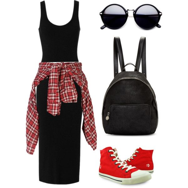 Untitled #7 by sylver-fang on Polyvore featuring Enza Costa, R13, Burnetie and STELLA McCARTNEY
