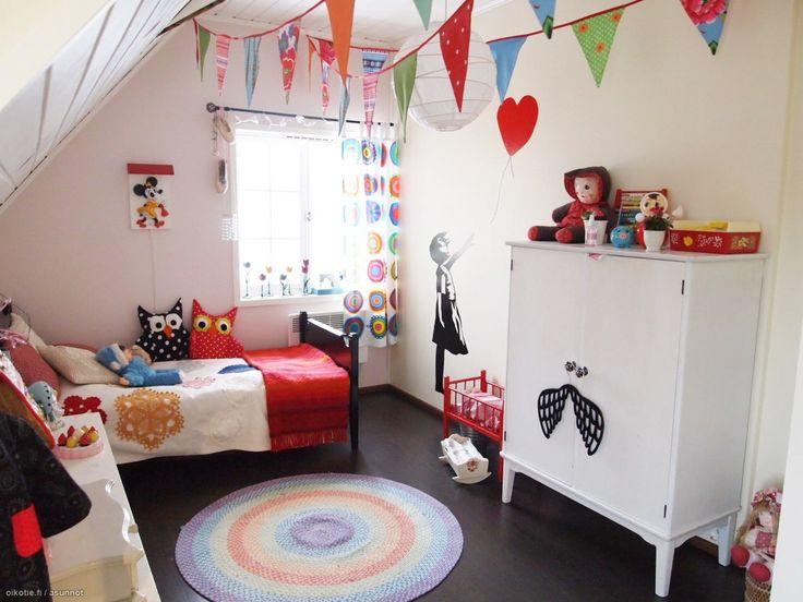 Myytävät asunnot, Vilhonkatu 17 B, Lahti #oikotieasunnot #lastenhuone #kidsroom