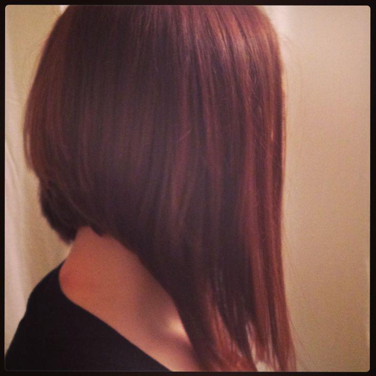 Red hair - long inverted bob | My stuff!! | Pinterest ...