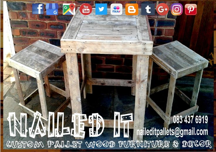 Custom Build Pallet Wood Chairs & Benches. All built to each client's specific needs & requirements. Suitable for indoor & outdoor use. Contact 0834376919 or naileditpallets@gmail.com for all your inquiries or quotes #palletgardenfurniture #gardenfurniture #outdoorpalletfurniture #naileditpalletfurniture #customfurniture  #palletfurnituredurban #custompalletfurniture #palletchairs #palletbenches #palletwoodchairs #palletwoodbenches #palletoutdoorfurniture