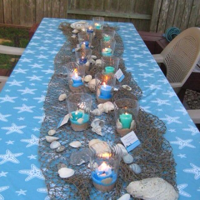 Table Decoration Ideas For Retirement Party retirement party decoration ideas pinterest Beach Theme Party Decorations Beach Themed Party Cute Snackparty Ideas