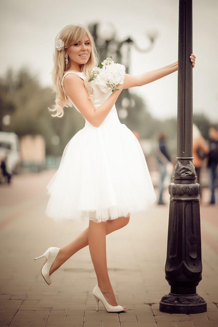 Тематические свадьбы | Короткие свадебные платья | 5 Фото идеи | Страница 3