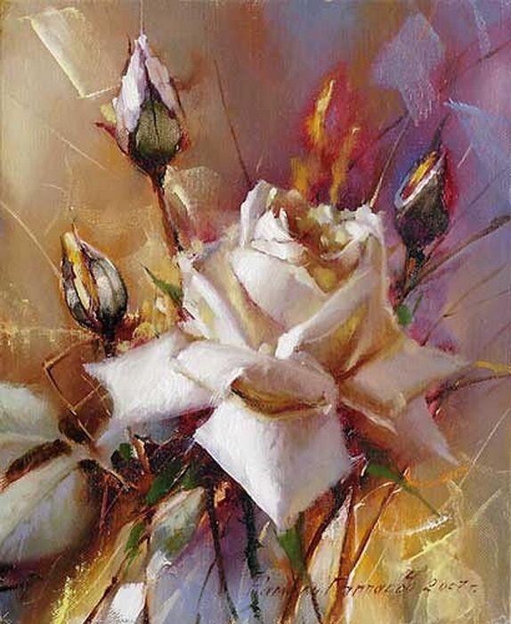 Розы в живописи. Обсуждение на LiveInternet ...