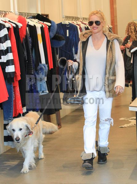 Nicollette Sheridan Sighted Shopping in Beverly Hills on January 11 2018