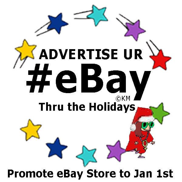 Special MAX Holiday eBay Advertising Social Media Campaign Promote thru Jan 1st