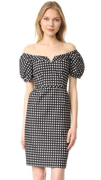 Nanette Lepore Cheeky Check Dress