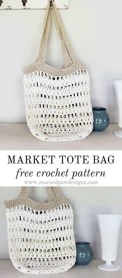 Beginner Crochet Market Tote Bag ,  Sheri Short