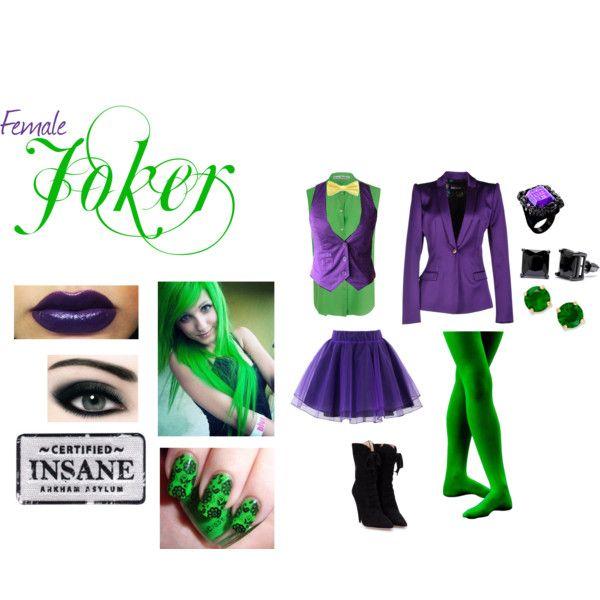 62 best joker costume ideas images on pinterest costume ideas female joker by artistic muse on polyvore featuring acne studios just cavalli solutioingenieria Image collections