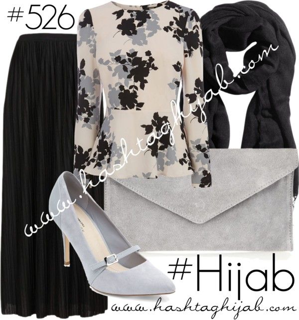 Hashtag Hijab Outfit #526 van hashtaghijab met pink topsOasis pink top€45 - oasis-stores.comTopshop long skirt€37 - nordstrom.comGrey leather pumps€32 - newlook.comAtterley Road gray purse€32 - atterleyroad.comH M scarve€8,89 - hm.com