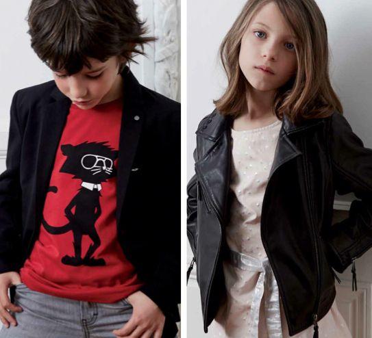 Rock rebel looks at Karl Lagerfeld Kids fashion for spring 2016