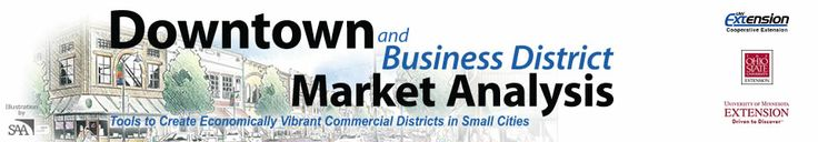 Downtown and Business District Market Analysis - GIS/Trade Area/Demographic Analysis Benchmark