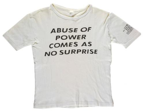 jenny holzer inflammatory essays shirt