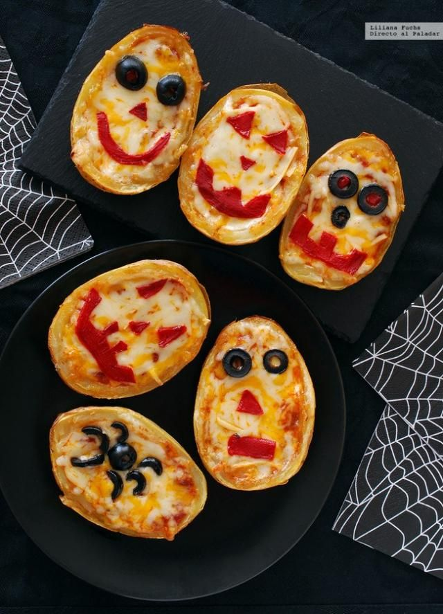 El Halloween más salado en 17 recetas de snacks