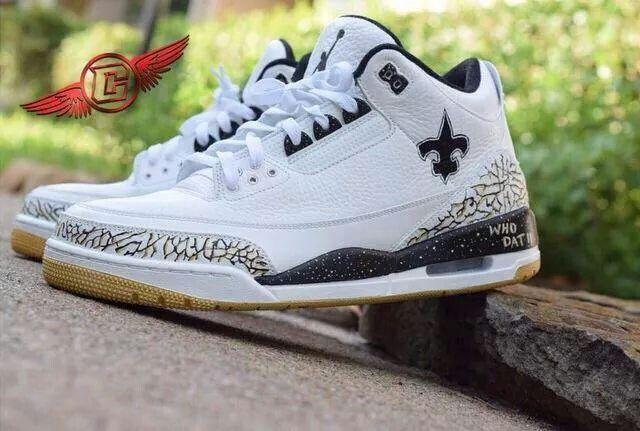New Orleans Saints Tennis Shoes My New Orleans Saints