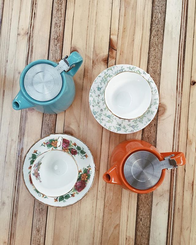 What a lovely way to spend an evening, getting to know @ffionmckeown over pots of herbal tea at Altrincham Market!