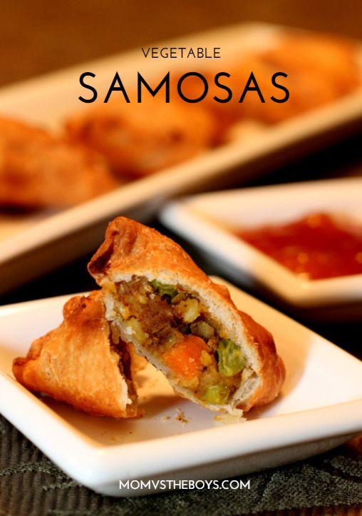 Homemade Vegetable Samosas