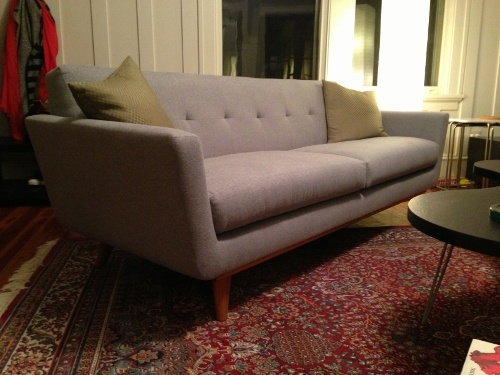 Tufted Sofa Grant Leather Chair by thrive