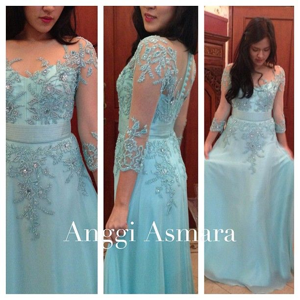 lacy dress  by anggi asmara