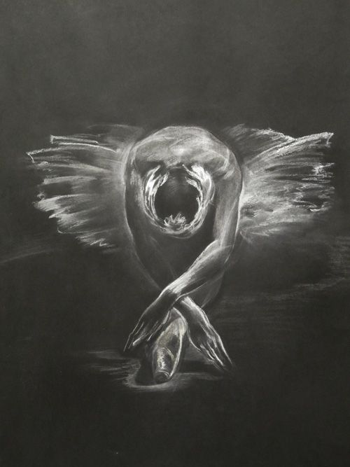 """Odette"" painting by Alexander Sheversky (http://www.sheversky.com/category-figurative.htm) - Ballet, балет, Ballerina, Балерина, Dancer, Danse, Танцуйте, Dancing, Russian Ballet"