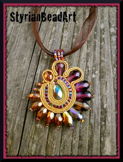 StyrianBeadArt: #Soutache Schmuck.... #beads