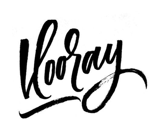 Best brush lettering images on pinterest