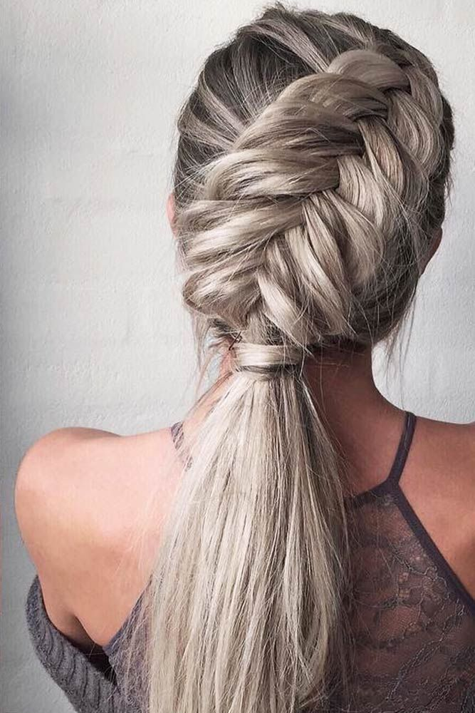 See these 12 all-time fishbone braids! For those tired of plain boring braids and classic French Braids and looking for a fun new braided hairstyle.