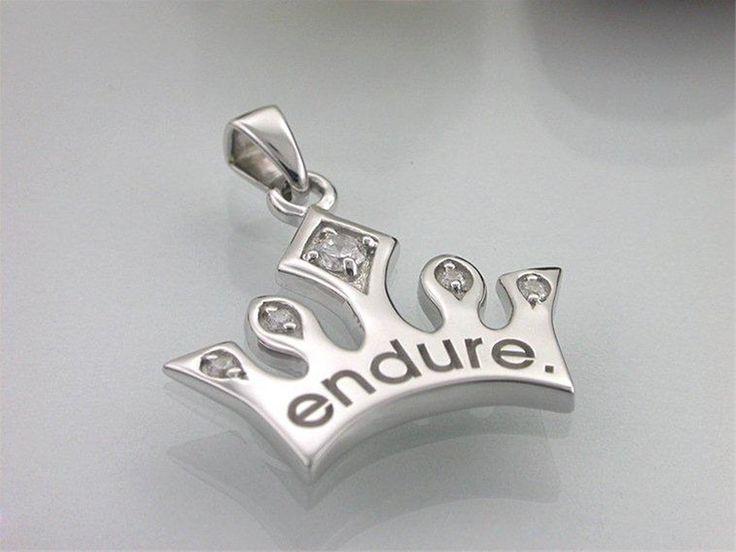 Endure Princess Crown Necklace