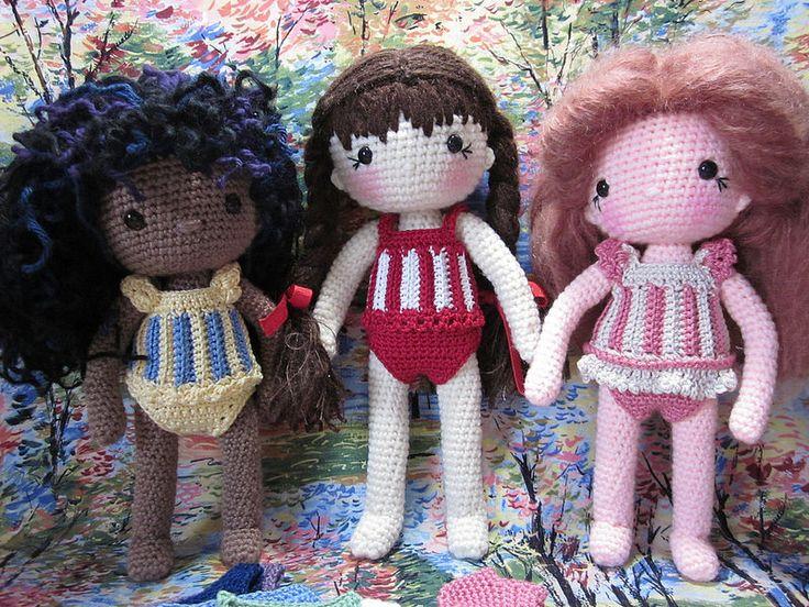 Amigurumi Doll Book : Best my crochet doll isabelle kessidjian images