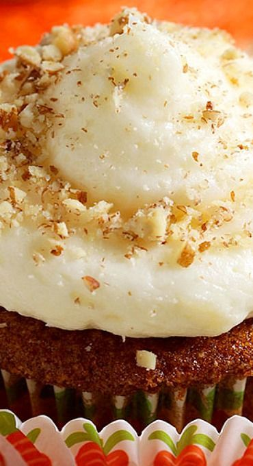 The BEST Carrot Cake Cupcakes