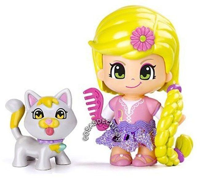 #PinyPon #Figura de #Cuentos #Rapunzel #Original #Famosa #CosasDeChicos #Chicas #Gato #Cat   Reviví los clásicos #cuentos #infantiles, con esta adorable #colección de #muñecas.  Incluye: 1 #figura, 1 #mascota, 1 #accesorio. Presentación: Blister cerrado. Edad recomendada: +3 años.  Importador oficial: #Caffaro.