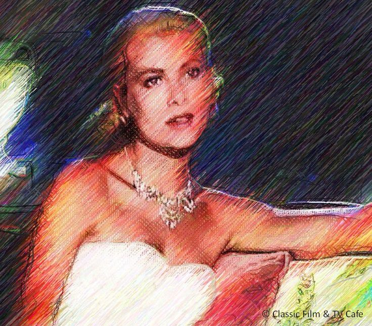 Grace Kelly in TO CATCH A THIEF.