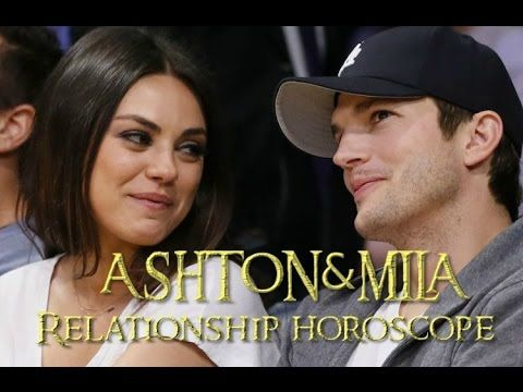 Ashton&Mila Relationship Horoscope; who´s the boss in this relationship?