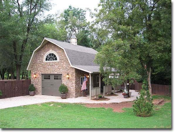 18 best gambrel roof garage apartments images on pinterest for Gambrel garage with apartment floor plans