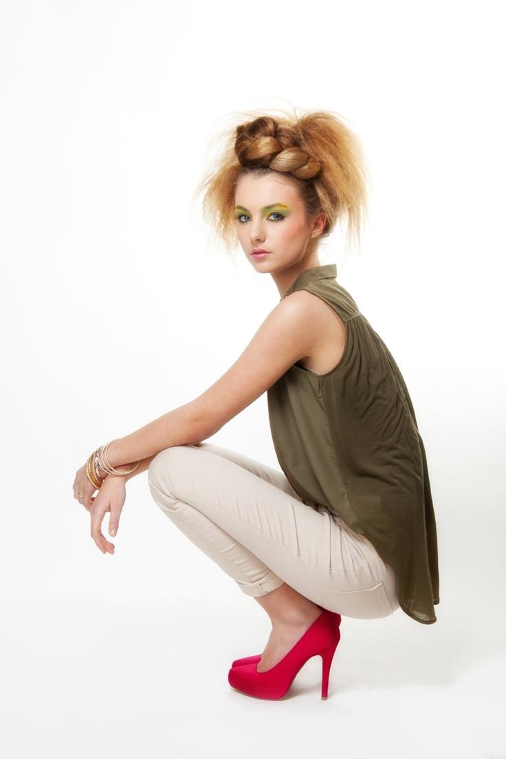 Model: Bibi Beurskens  Muah: Francis de Bruyn  Foto: Studio B11